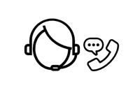 Icône interlocuteur unique